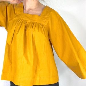 NWT Madewell mustand top, XS